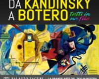 Exhibition from Kandinsky to Botero, Tapestry at Palazzo Zaguri